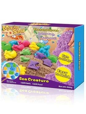 Motion Sand 3D Sand Box - Sea Creature