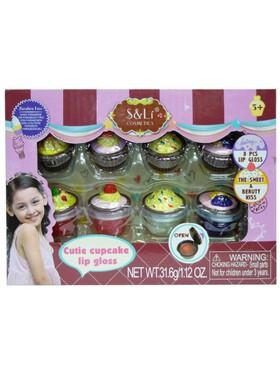 S&Li cosmetics 8-in-1 Cutie Cupcake Lip Ggloss