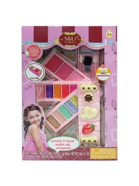 S&Li cosmetics Lovely 4 Layer Makeup Compact