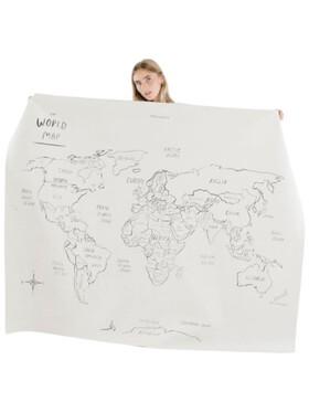 Gathre World Map Leather Mat