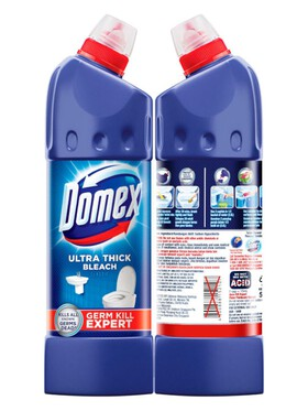 Domex Ultra Thick Bleach Toilet Cleaner Classic (900ml)
