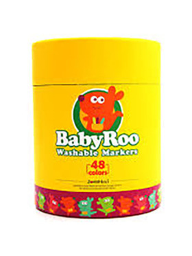 Joan Miro Washable Markers - Baby Roo (48 Colors)