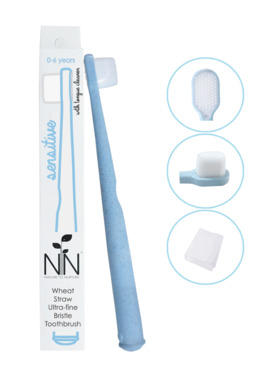 Nature to Nurture Wheat Straw Ultra-Fine Bristle Toothbrush