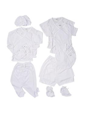 Swaddies PH Newborn Whites Set
