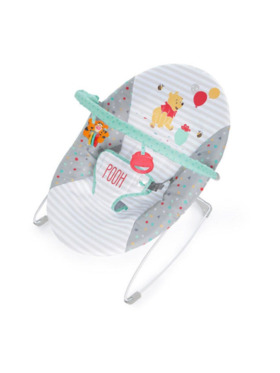 Bright Starts Winnie the Pooh Happy Hoopla Vibrating Bouncer
