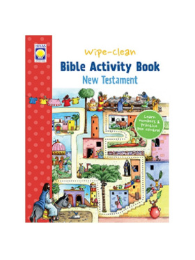 Hiyas Wipe-Clean Bible Activity Book: New Testament