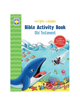 Hiyas Wipe-Clean Bible Activity Book: Old Testament