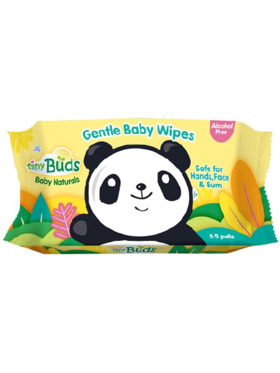 Tiny Buds Natural Baby Wipes (65 Pulls)