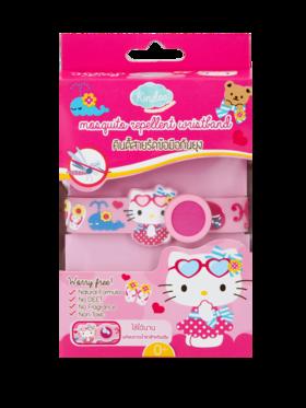 Kindee Organic Mosquito Repellent Hello Kitty Wristband