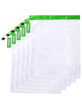 Zippies Reusable Mesh Produce Bags - Bundle of 5