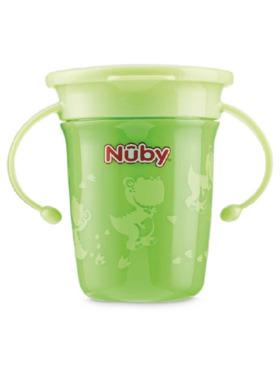 Nuby 360 Toddler Wonder Cup with Twin Handles