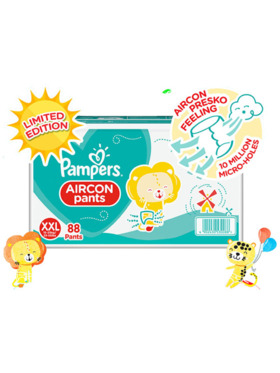 Pampers Aircon Pants Limited Edition Box XXL (88 pcs)