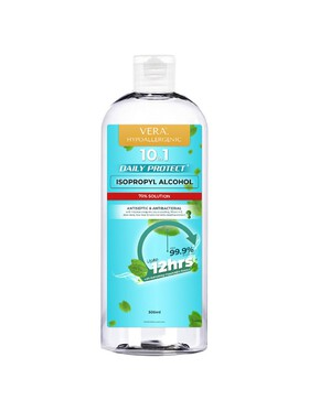 Vera Hypoallergenic Daily Protect Isopropyl Alcohol with Peppermint Extract (500ml)