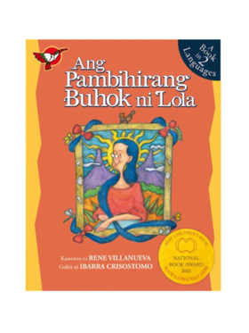 Adarna House Books Ang Pambihirang Buhok ni Lola
