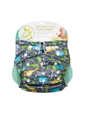 Baby Leaf Animal Jungle Cloth Diapers