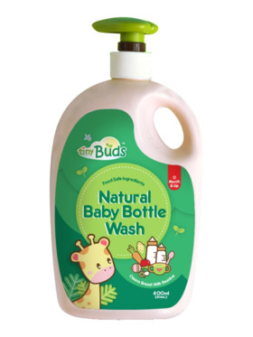 Tiny Buds Natural Baby Bottle Wash (600ml)