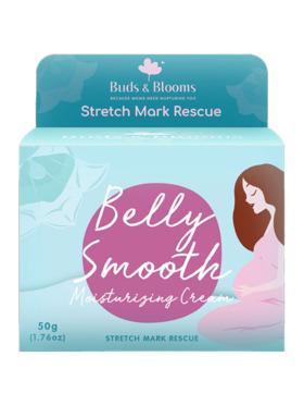Buds & Blooms Belly Smooth Stretch Mark Cream (50g)
