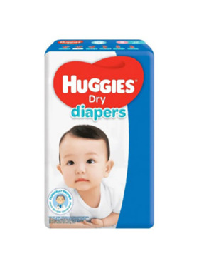 Huggies Dry Diapers Small (38s)