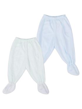 St. Patrick Footie Pajamas- Set of 2
