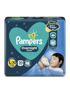 Pampers Overnight Pants Large (30pcs)