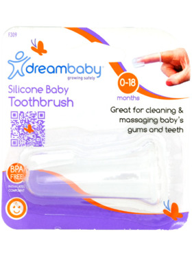 Dreambaby- Sanxiao Silicone Finger Toothbrush