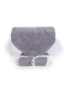 Nuborn.ph Bamboo Hooded Towel with Washcloth Set