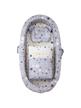 Coco Lala Star Collection Pillowdy Baby Nest