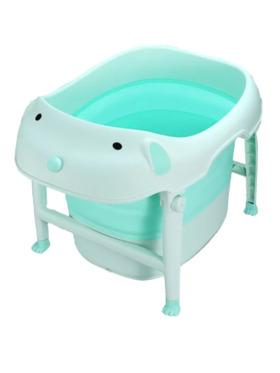 The Little Hot Air Balloon Dog Foldable Bath Tub