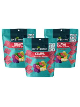 Oh So Healthy! Guava Crisps (set of 3)