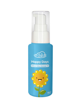 Tiny Buds Happy Days Natural Baby Sunflower Massage Oil (50ml)