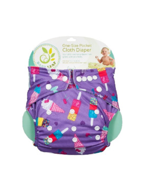 Baby Leaf Ice Cream Delight Cloth Diapers
