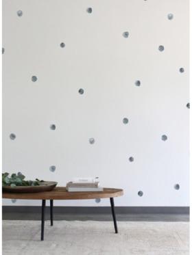 Urban Walls Mini Watercolour Raindrops Wall Decal