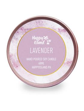 Happy Island Lavender Soy Candle (2oz)