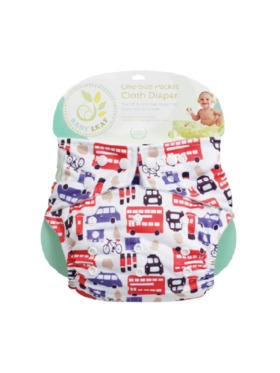 Baby Leaf London Street Cloth Diapers