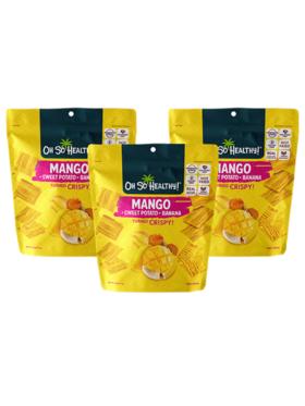 Oh So Healthy! Mango Crisps (set of 3)