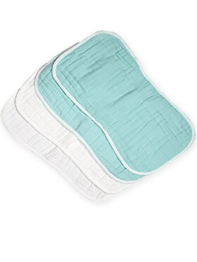 Fin's Adventures 2 in 1 Muslin Burp Cloth and Back Towel  (Set)