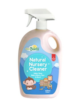 Tiny Buds Natural Nursery Cleaner Bottle (600ml)