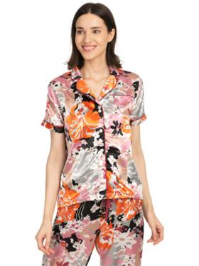 Harper Bridge Olivia Women's Pajama Set (Floral Satin)