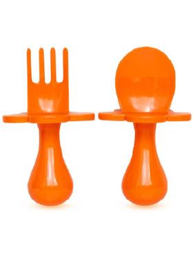 Grabease Self Feeding Spoon and Fork Set