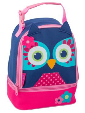 Stephen Joseph Owl Lunch Pal Lunch Bag