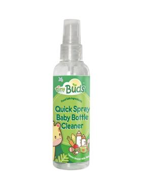 Tiny Buds Pocket Size Quick Spray Baby Bottle Wash (100ml)