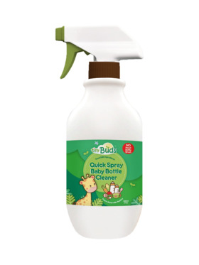 Tiny Buds Quick Spray Baby Bottle Cleaner (200ml)