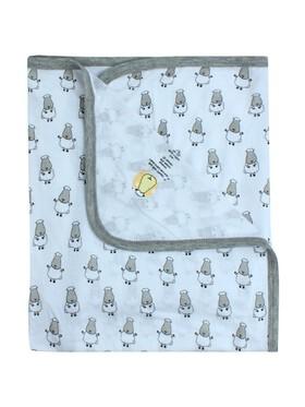 Baa Baa Sheepz Single Layer Baby Blanket