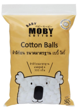 Baby Moby Standard Cotton Balls (300g)