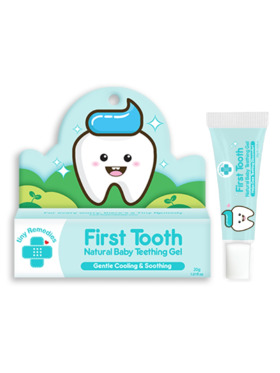 Tiny Buds First Tooth Natural Baby Teething Gel