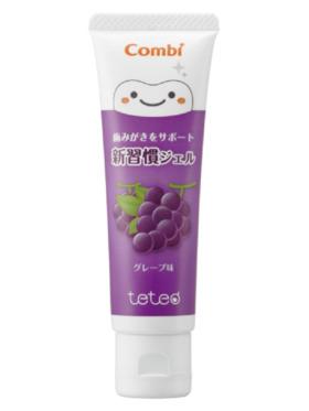 Combi Teteo Gel Dentifrice Grape