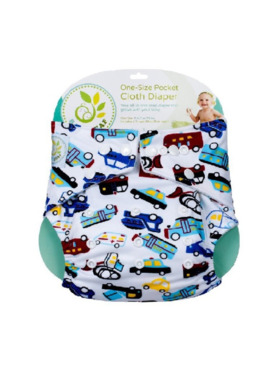 Baby Leaf Traffic Jam Cloth Diapers