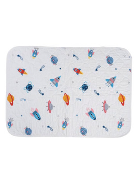 Swaddies PH Spaceships Original Water-Absorbent Bedmat