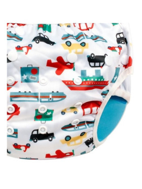 Baby Leaf Vehicles Cloth Diapers