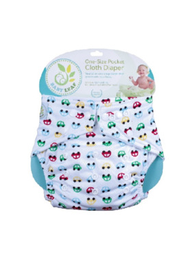Baby Leaf Vroom Vroom Cloth Diapers